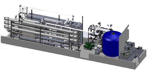 reverse osmosis system cost. 40 Ft Containerized Seawater Reverse Osmosis System Cost S