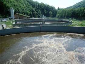 Biological aeration basin