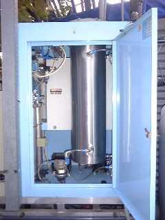 Inneres eines Ozongenerators