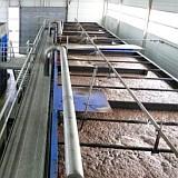 submerged membrane tank