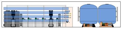 Text Box: Die Containerisierung bietet viele Vorteile: - geringe Baumassnahmen (Fundament für den Container) - Schnelle Umsetzung (sofort betriebsbereit) - Mobilität